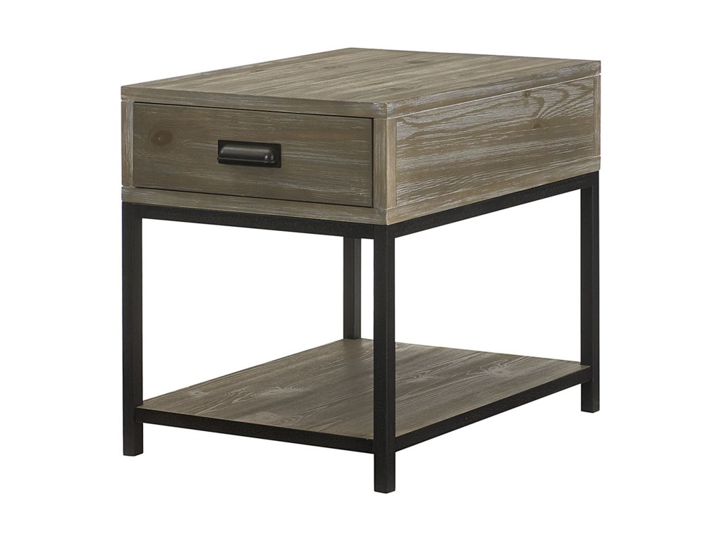 Hammary ParsonsRectangular Drawer End Table