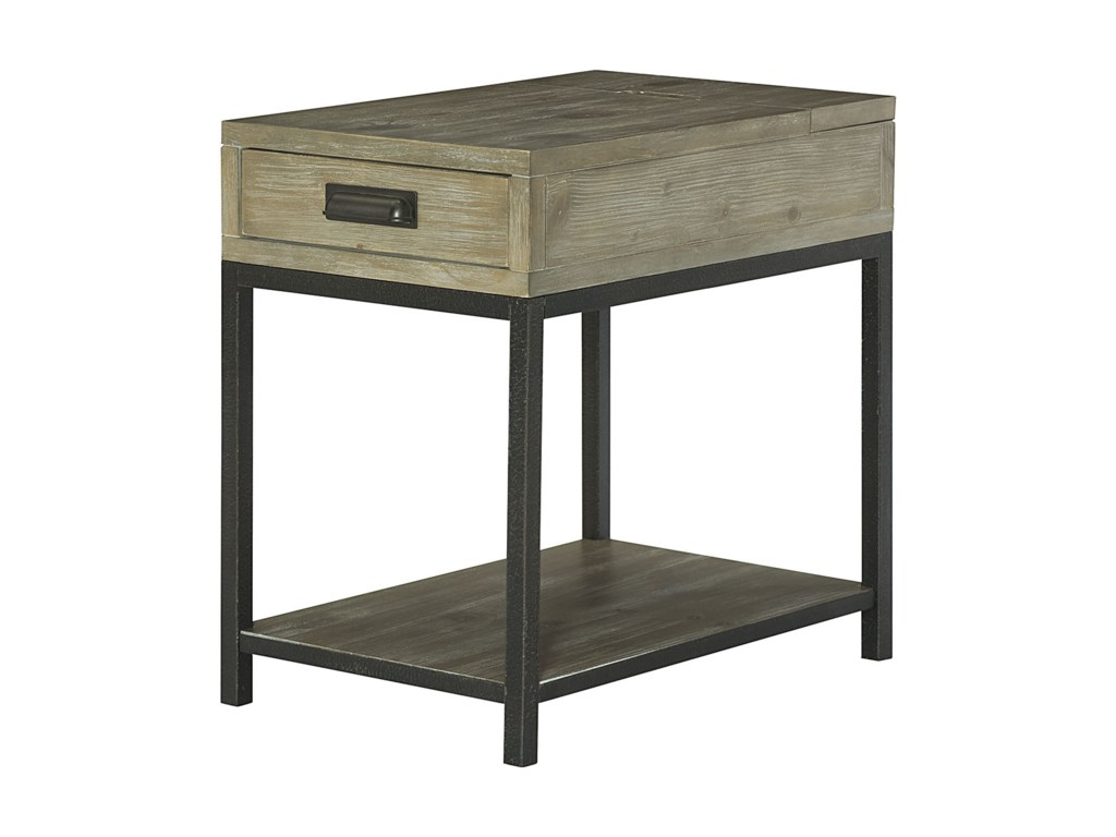Hammary ParsonsCharging Chairside Table