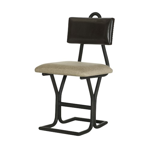 Hammary Parsons Desk Chair with Upholstered Seat and Back Rest