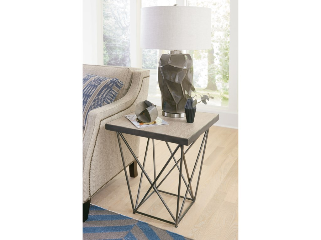 Hammary RaftersSquare End Table