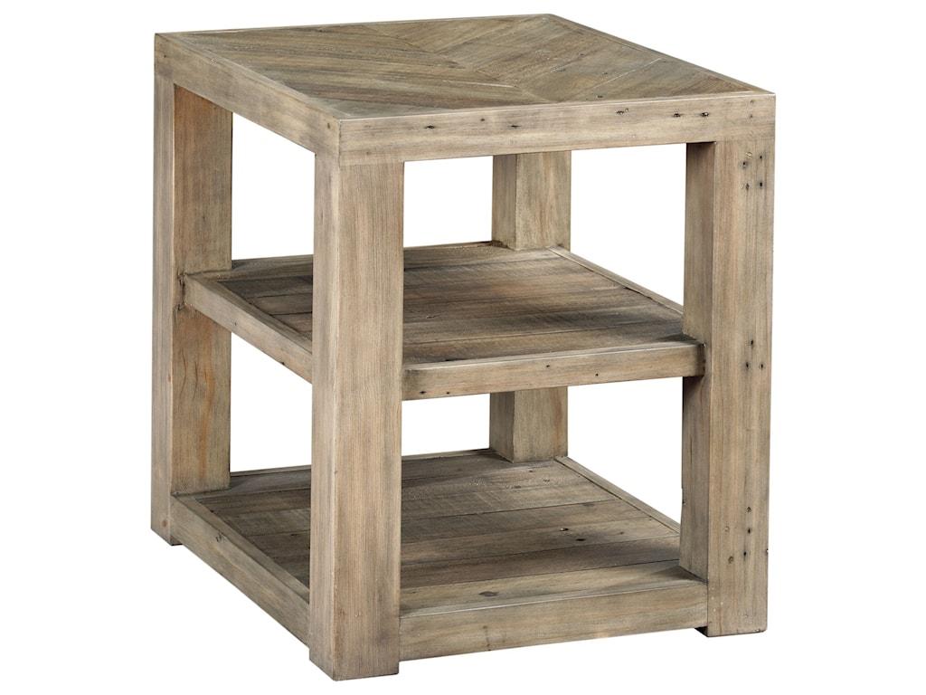 Hammary Reclamation PlaceShelf End Table