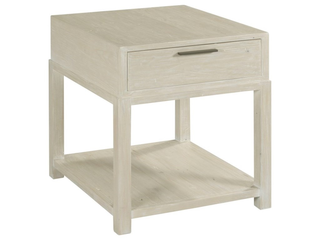Hammary Reclamation PlaceRectangular Drawer End Table