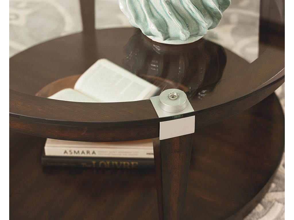 Hammary SolitaireRound Coffee Table