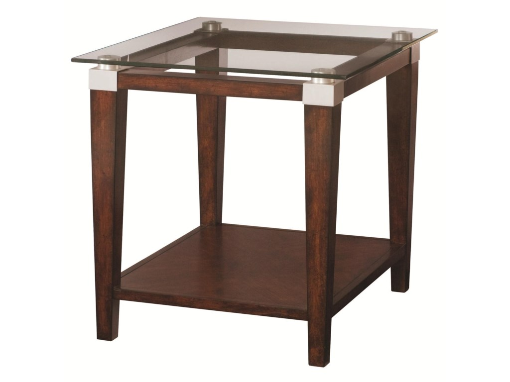 Hammary SolitaireEnd Table