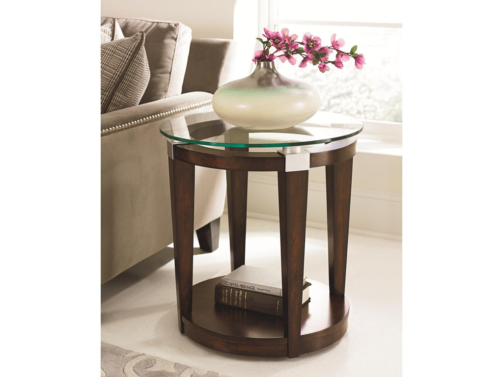 Hammary SolitaireAccent Table