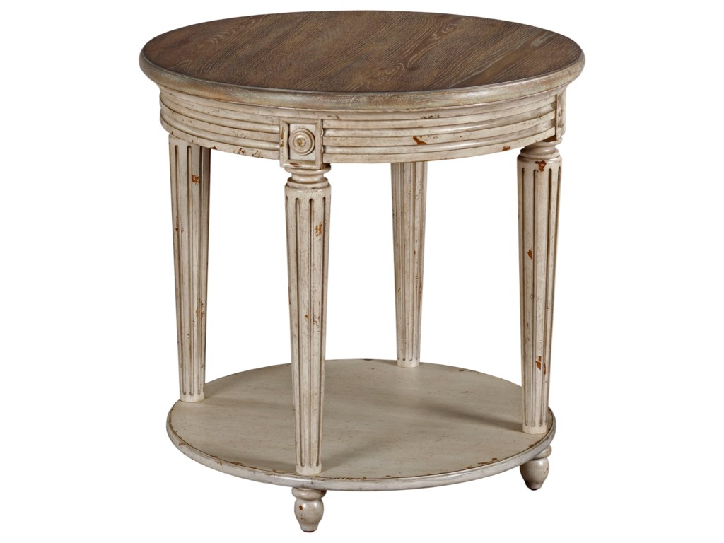 Hammary Southbury OCCRound End Table