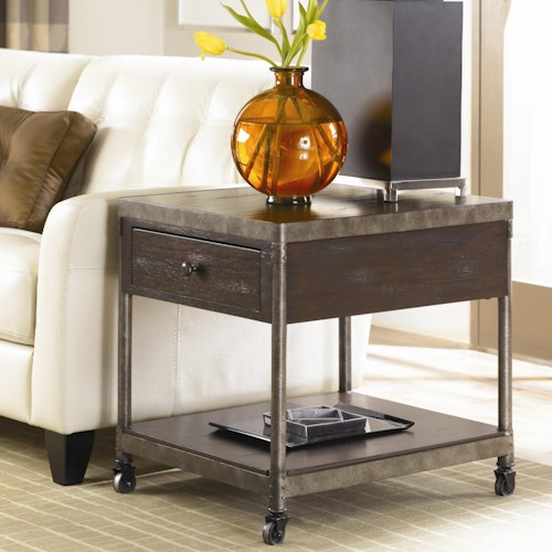 Hammary Structure Occasional End Table w/ Drawer