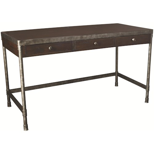 Hammary Structure Two Drawer Table Desk