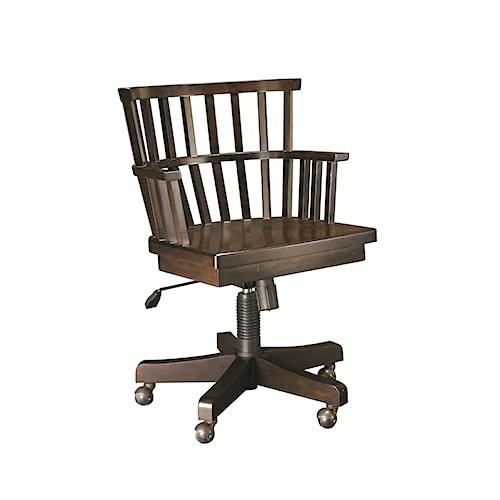 Hammary Structure Office Desk Chair w/ Wheels
