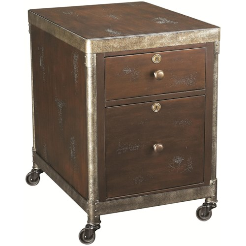 Hammary Structure Office File Cabinet w/ Two Drawers