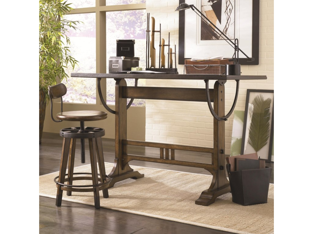 Hammary Studio HomeArchitect Desk and Swivel Seat