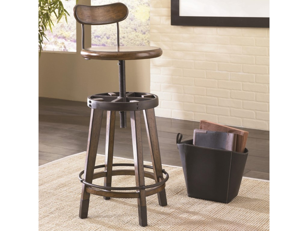 Hammary Studio HomeAdjustable Stool