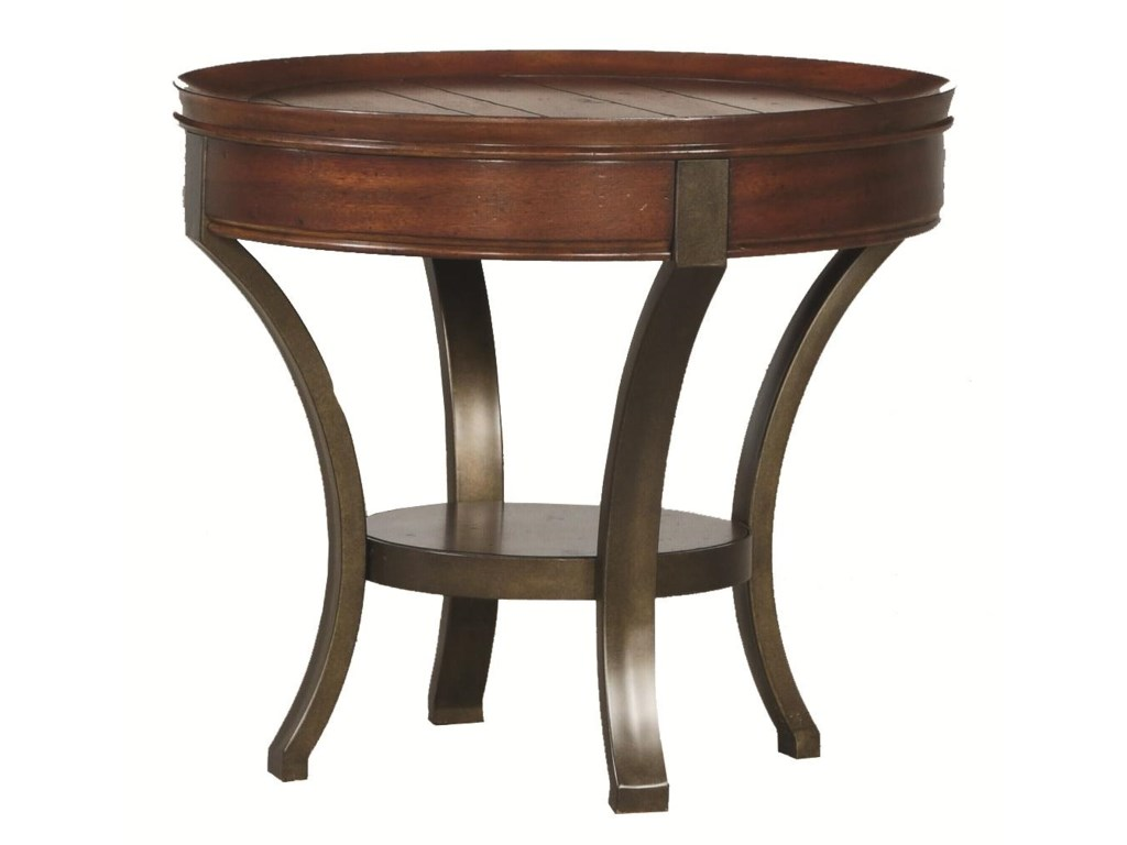 Morris Home Sunset ValleyRound End Table