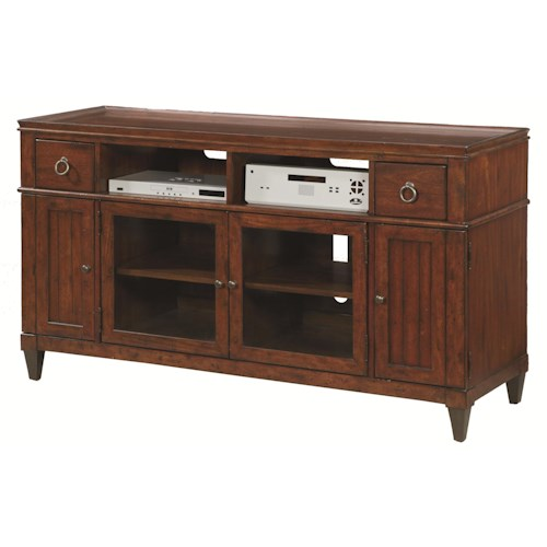 Hammary Sunset Valley TV Entertainment Console with Storage