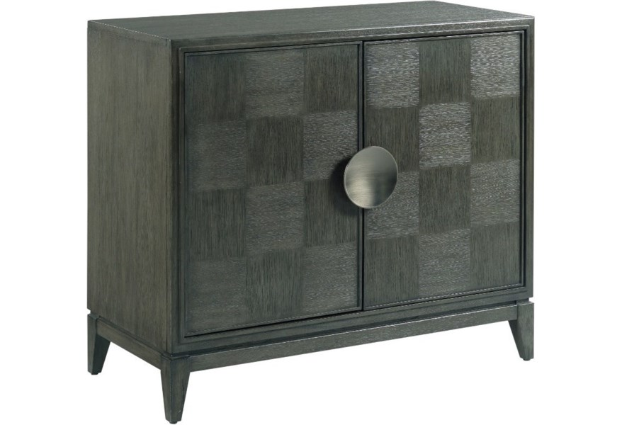 Hammary Synchronicity Transitional Hall Cabinet With Wire