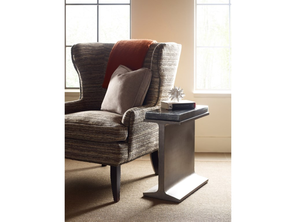 Hammary SynergyI-Beam Chairside Table