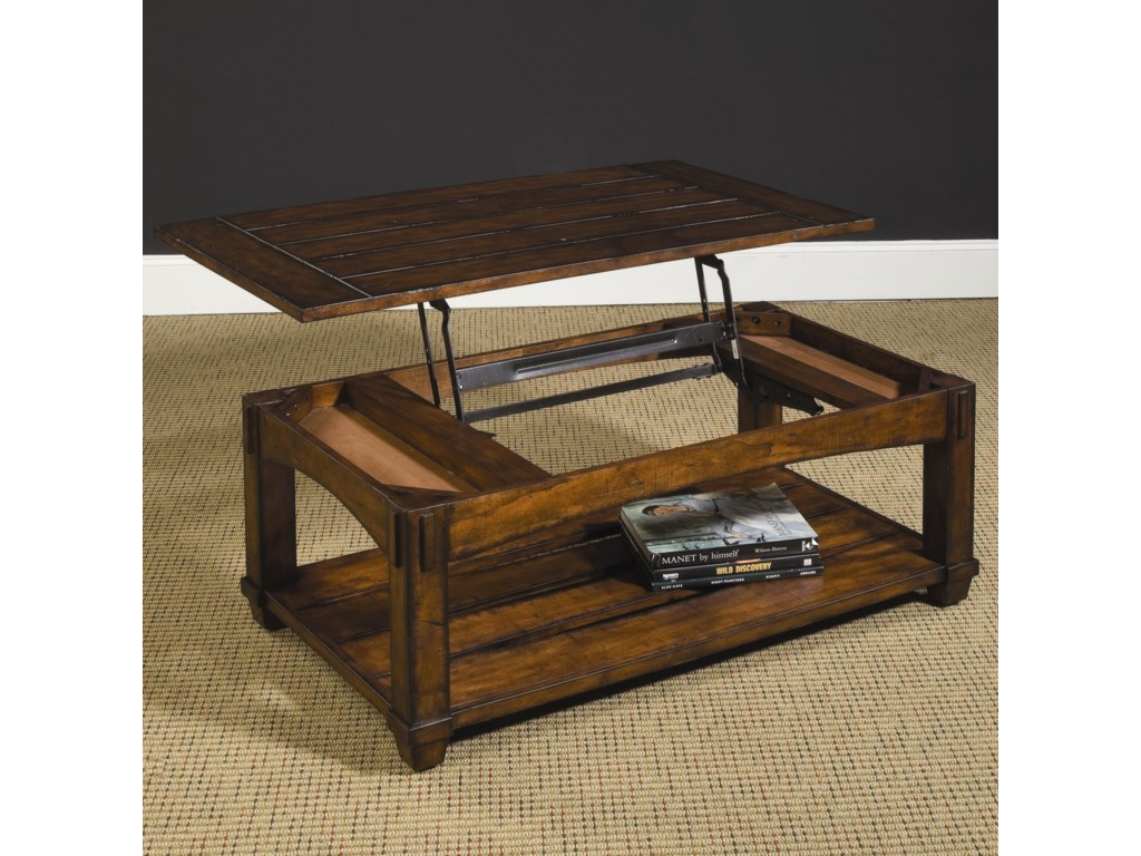 Hammary Tacoma Rectangular Lift-Top Cocktail Table