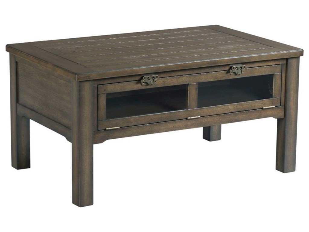 Hammary TributeSmall Rectangular Cocktail Table