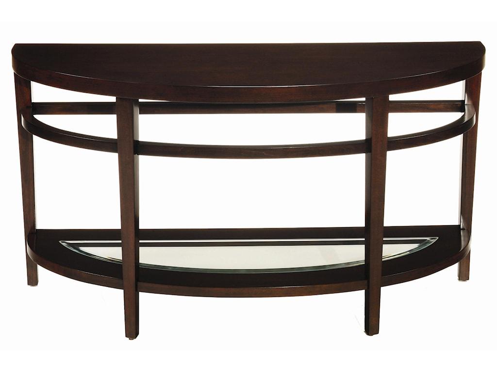 Hammary UrbanaDemilune Sofa Table
