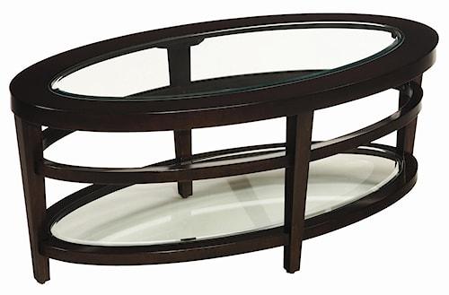 Hammary Urbana Oval Cocktail Table