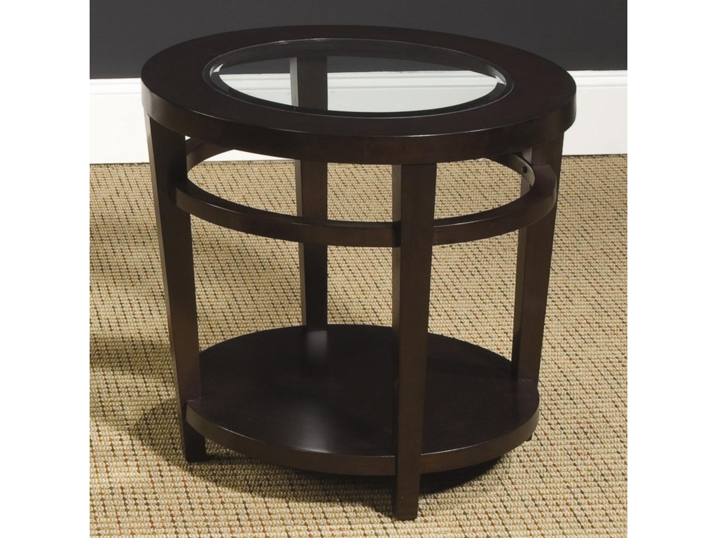 Hammary UrbanaRound End Table