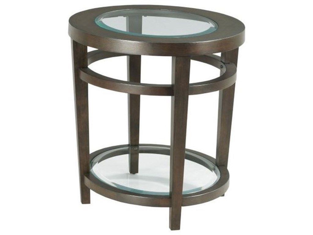 Hammary UrbanaOval End Table