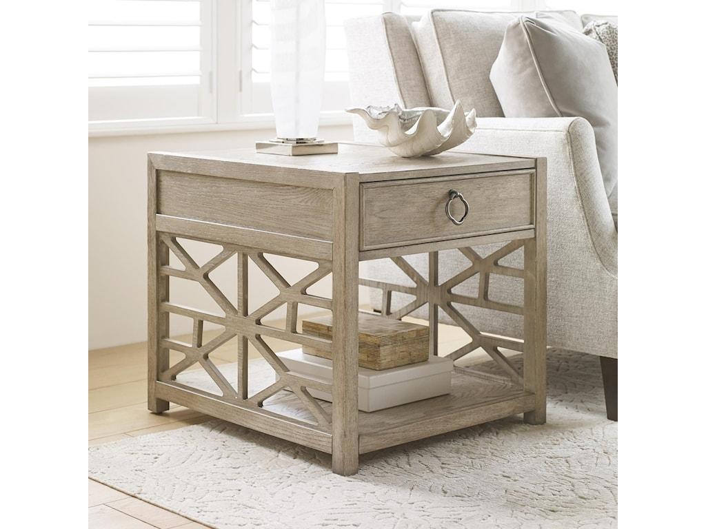 Hammary VistaBiscane Drawer End Table