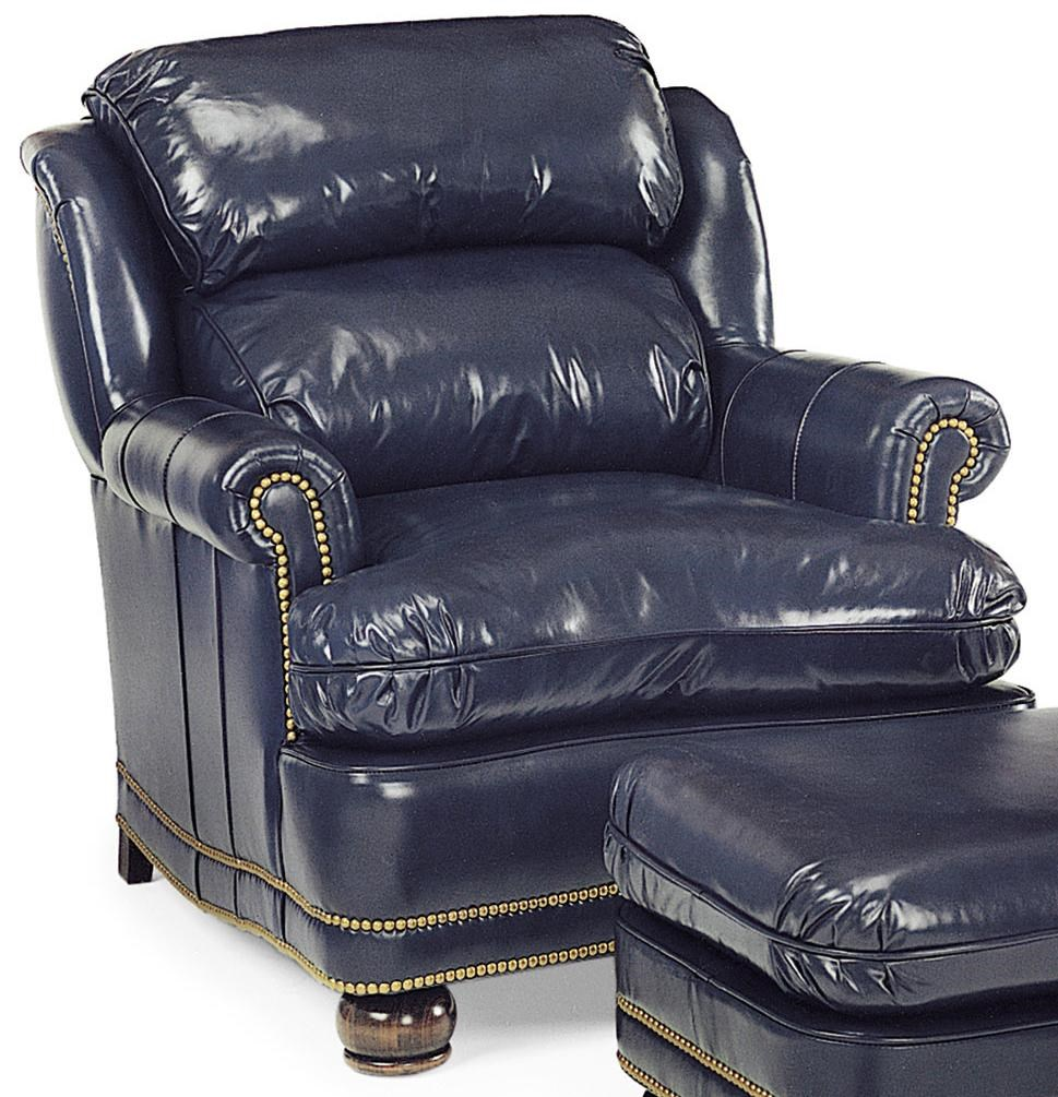 Hancock Moore Austin Traditional Upholstered Chair With Rolled