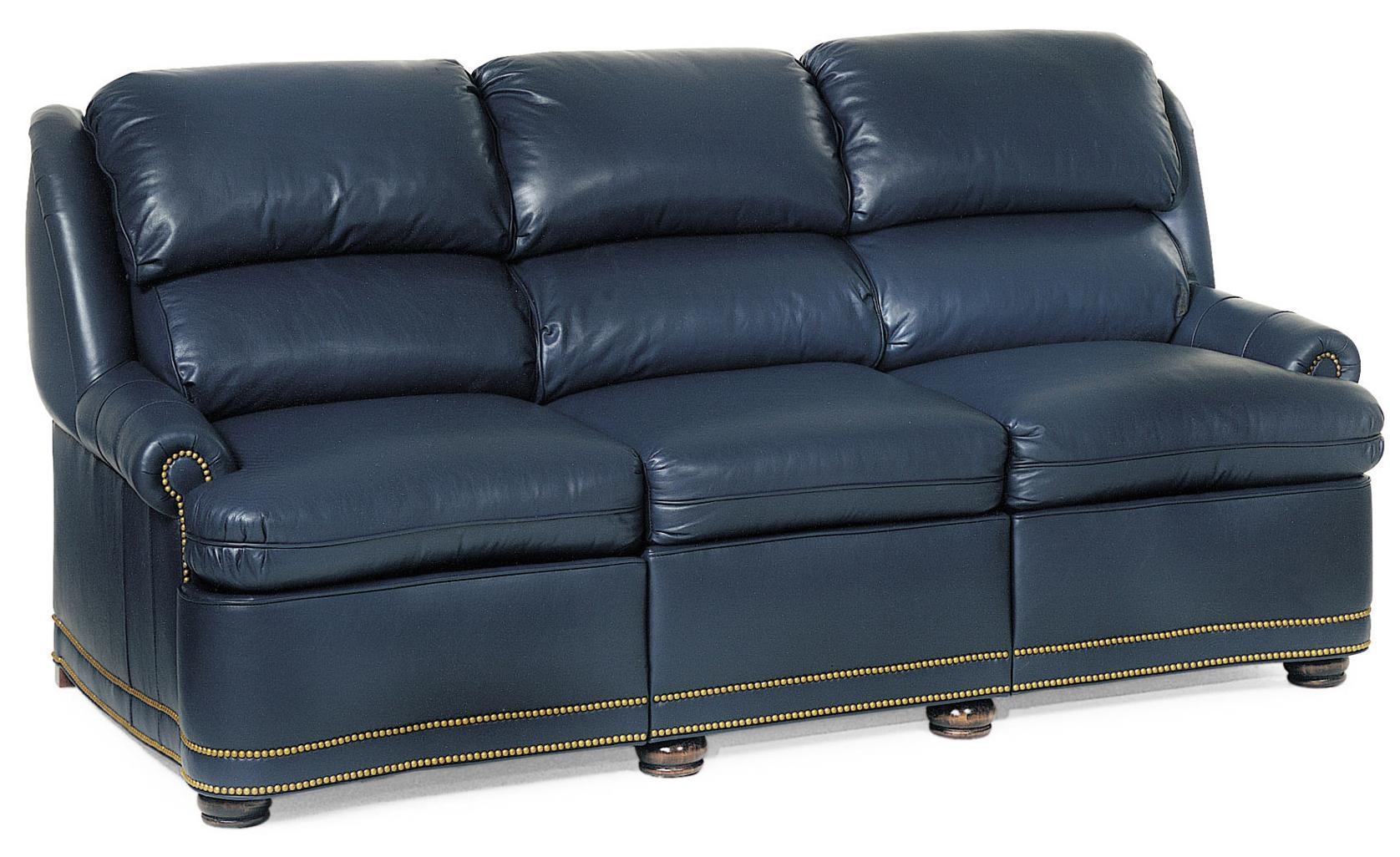 Hancock U0026 Moore Austin Traditional Full Recline Sofa With Nailhead Trim