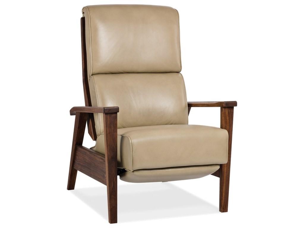 Hancock & Moore Motion SeatingKatie Lounger with Walnut Wood