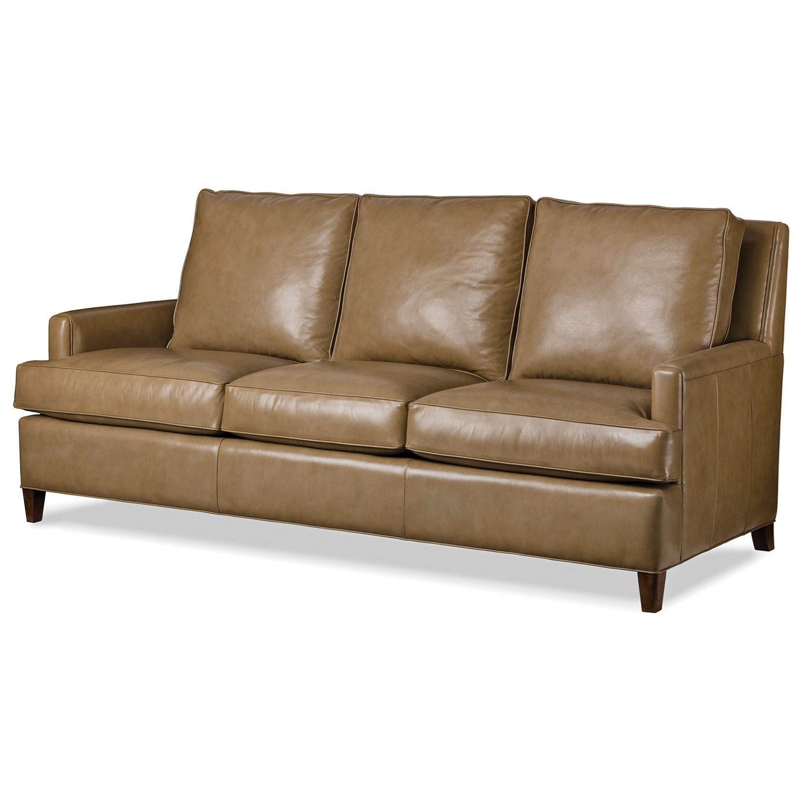 Ordinaire Hancock U0026 Moore Ricki Contemporary Leather Sofa