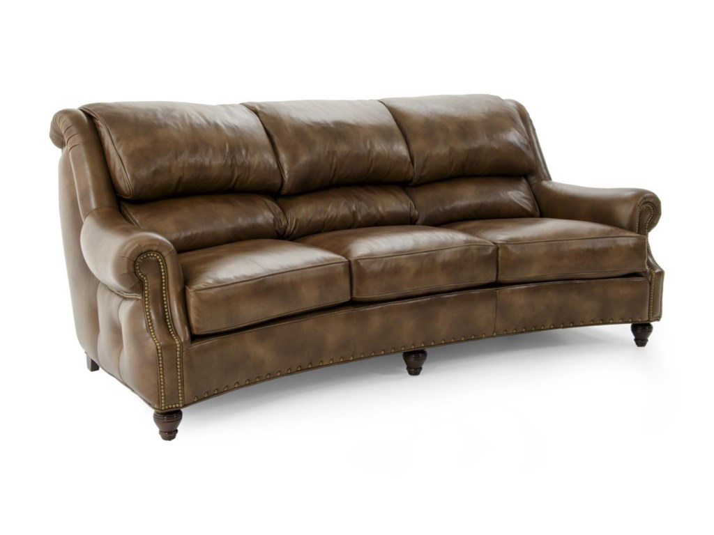 Han Moore Westwood 6215 3 Doent Latte Traditional Lounge Chair Sofa