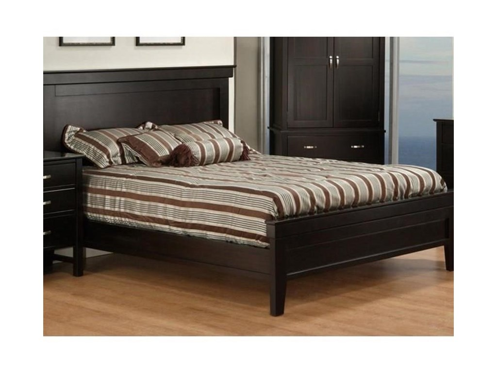 Handstone BrooklynQueen Bed with Low Footboard