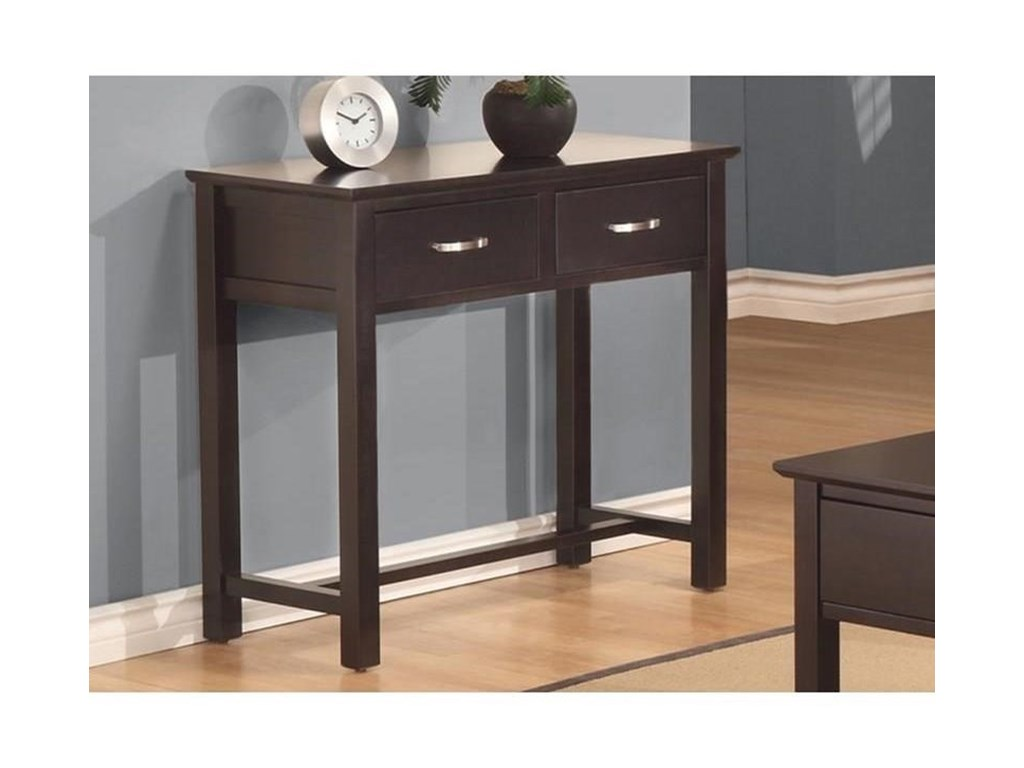 Handstone Brooklyn2-Drawer Sofa Table
