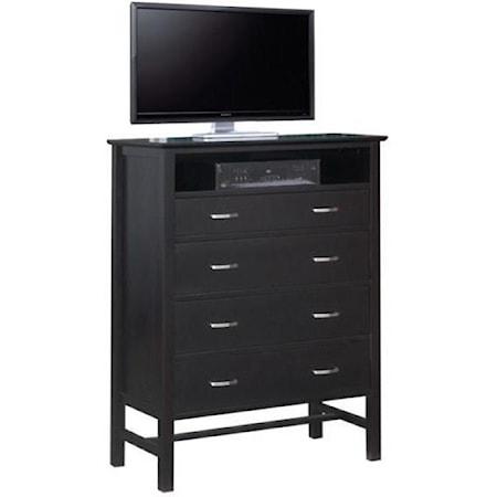 4-Drawer TV Hiboy