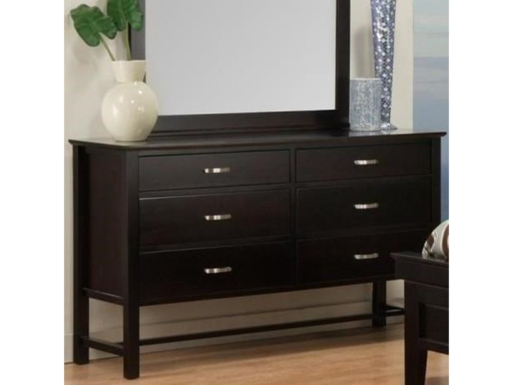 Handstone Brooklyn6-Drawer Dresser