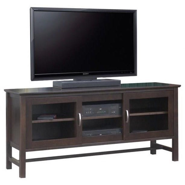 "60"" HDTV Cabinet with 3 Sliding Doors"