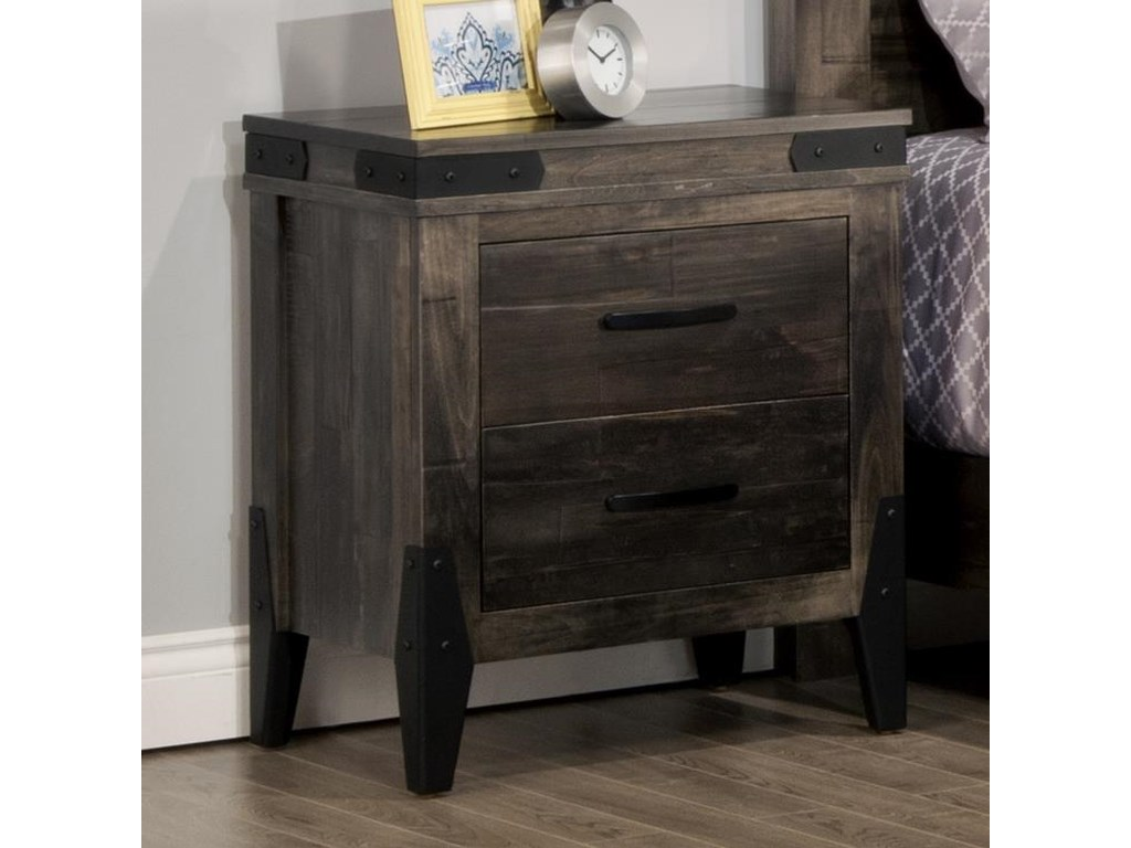 Handstone Chattanooga2 Drawer Night Stand