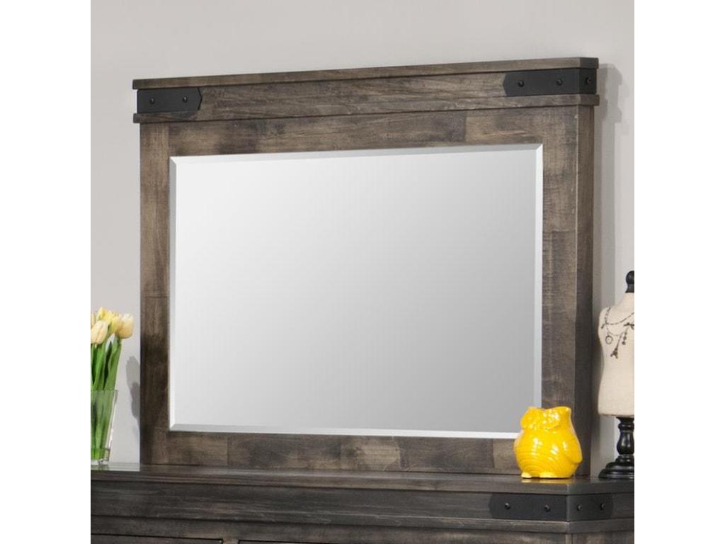 Handstone ChattanoogaLandscape Mirror