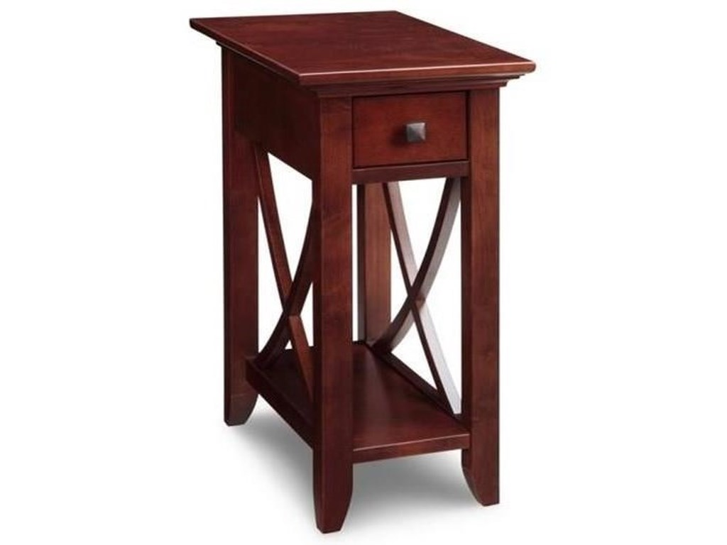 Handstone FlorenceChair Side Table with Drawer