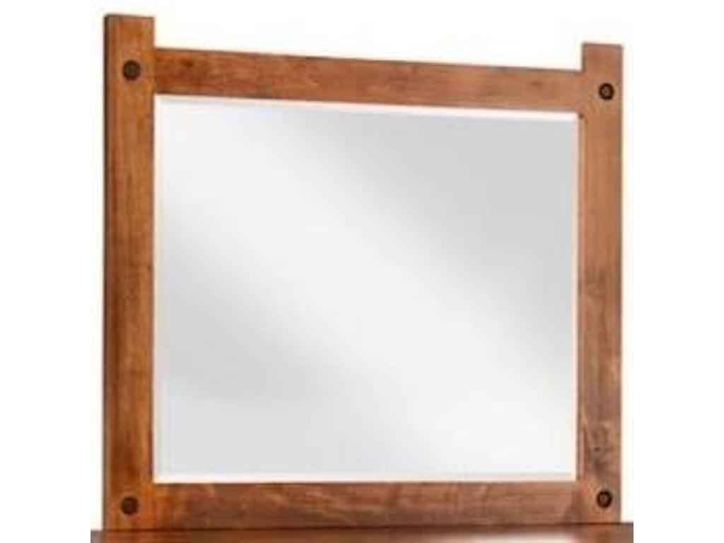 Handstone RaftersLandscape Mirror