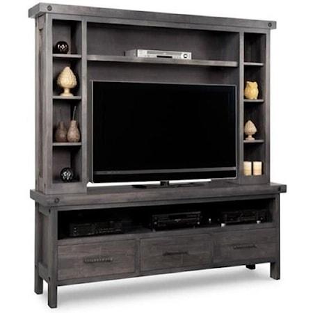 HDTV Unit w/Hutch