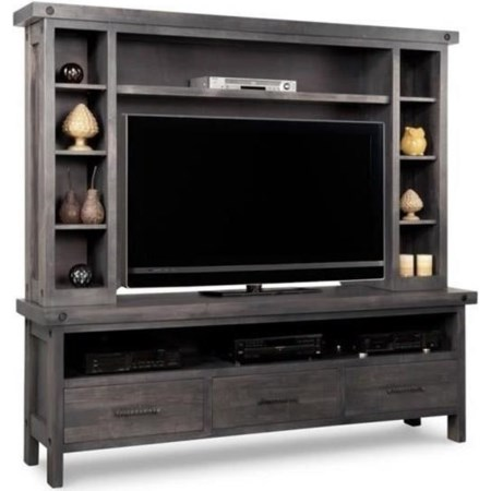 HDTV Unit with Hutch
