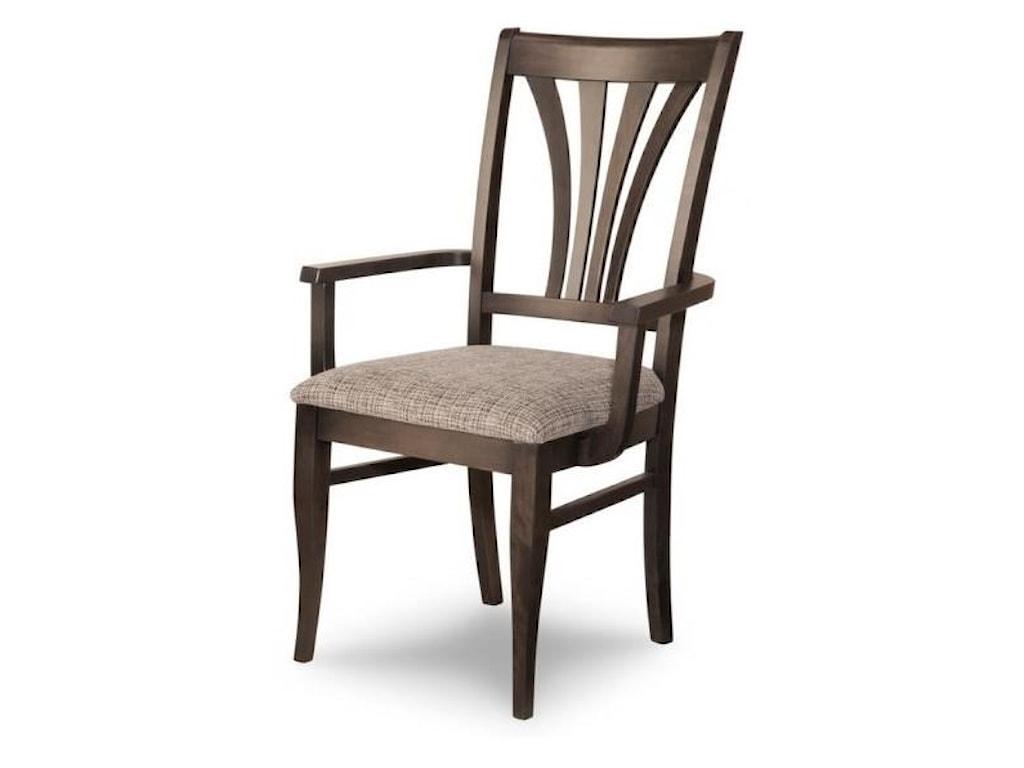 Handstone VeronaCustomizable Verona Dining Arm Chair
