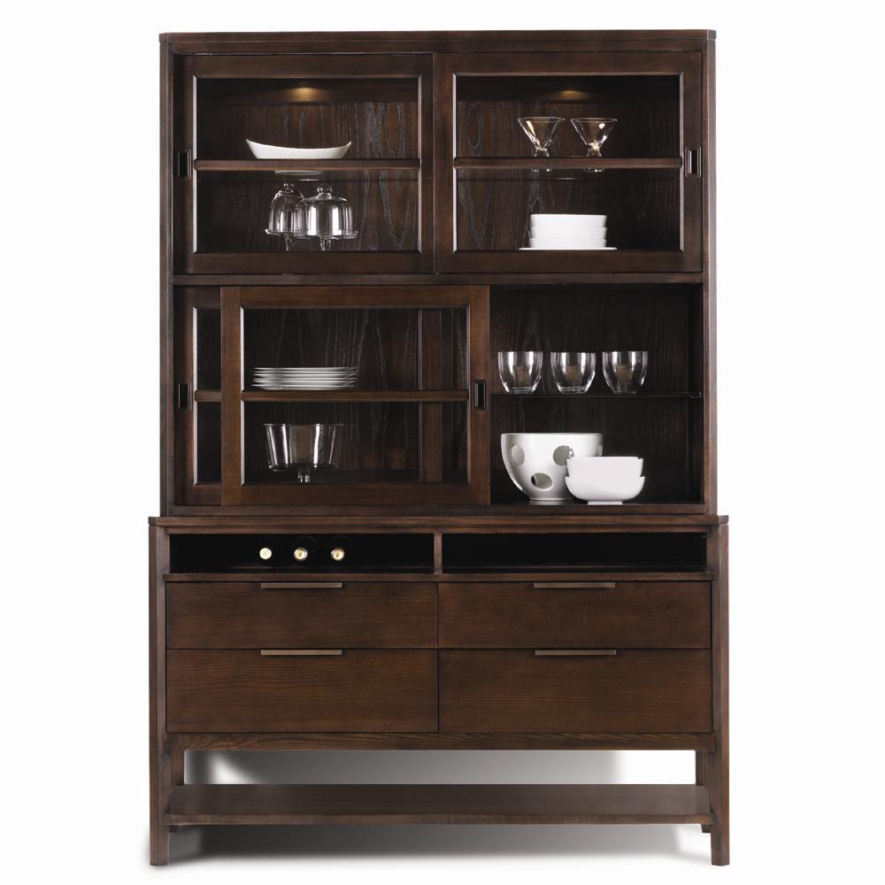 Harden Furniture Artistry Monterey Buffet U0026 Hutch China Cabinet