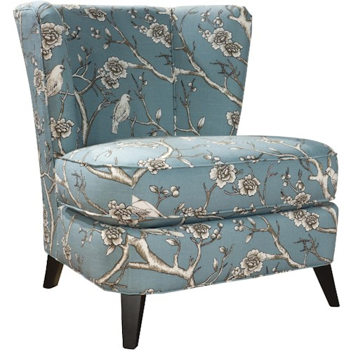 Hekman Tiara Contemporary Tiara Accent Chair with Tapered Feet
