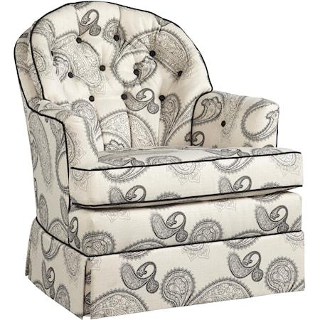 Casual Swivel Rocker Chair