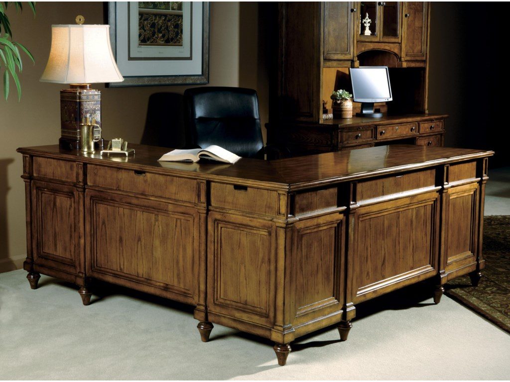 Hekman 7-9000Executive L-Desk