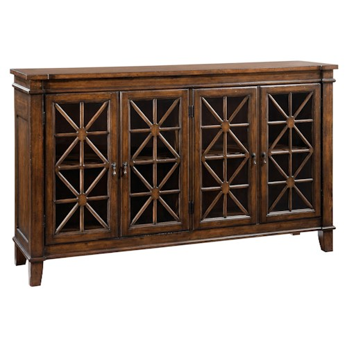 Hekman Accents and Occassional Traditional Entertainment Console