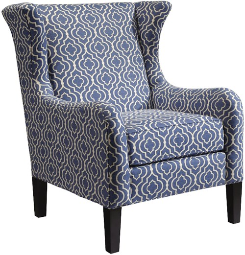 Hekman Alison Traditional Accent Alison Wing Chair